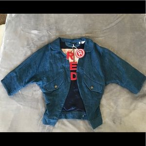 NWT Limited Edition Levi's RED Denim Jacket